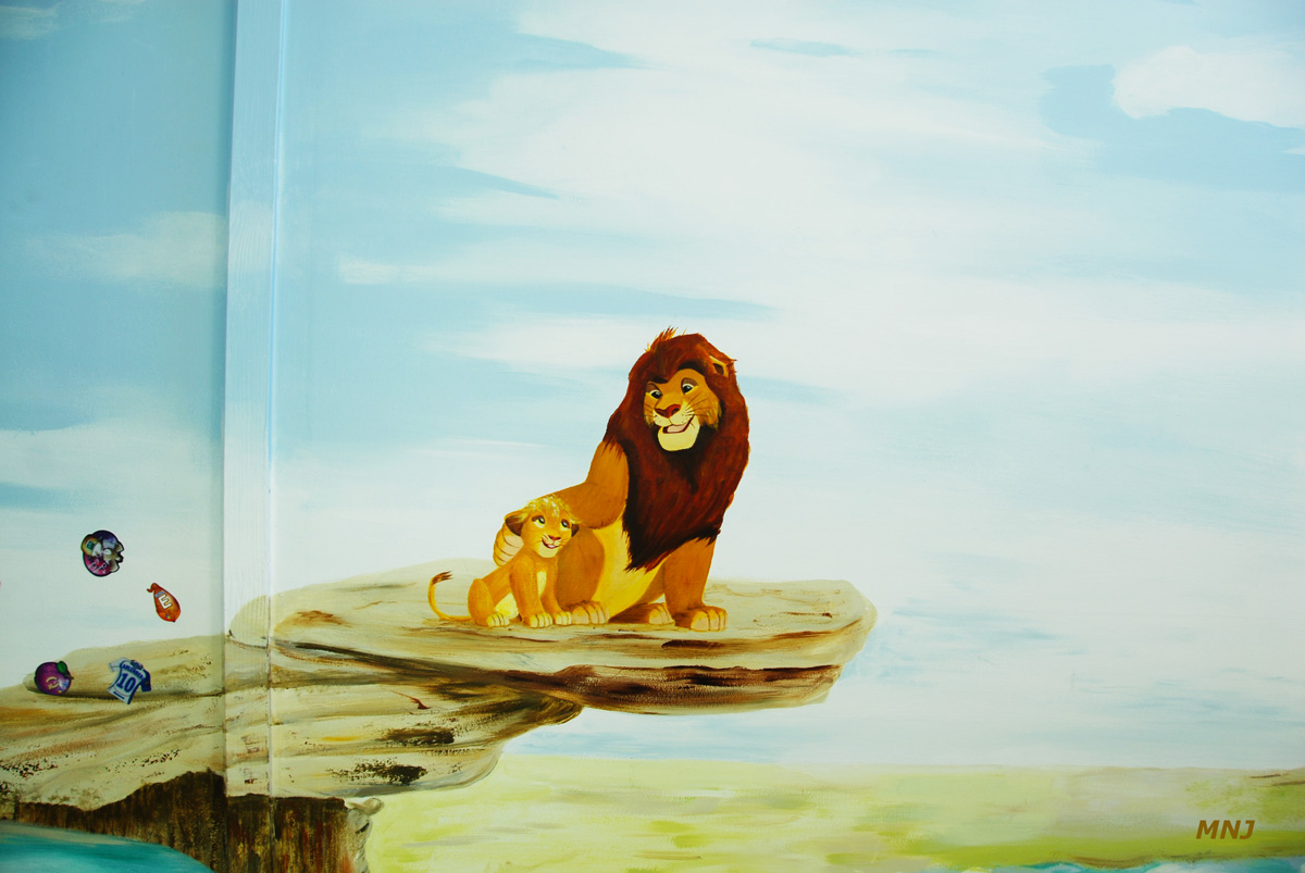 le roi lion et son fils