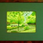 33 - RIVIERE - Aquarelle - 33 x 43