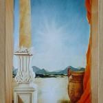 45 - DECOR EGYPTE - Décor peint - Mixte - 100 x 170