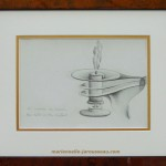 HOMMAGE A L'AMOUR - Crayon - 15 x 21