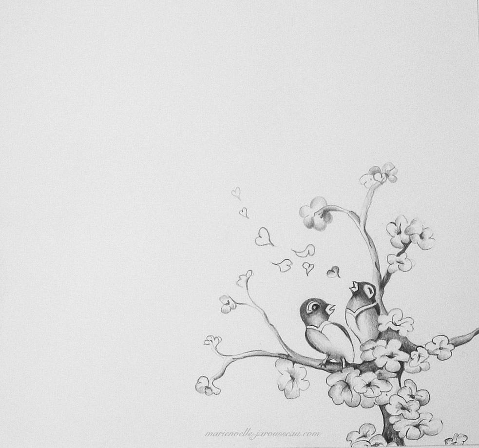 160 - Faire-part -ils convolent- crayon - 14,6 x 21 aout 2005