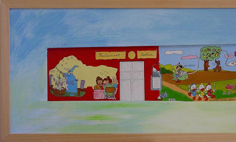 41-FRESQUE-DISNEY-Web-(détail-gauche)--acrylique-sur-papier--34-x-143---janvier-1995