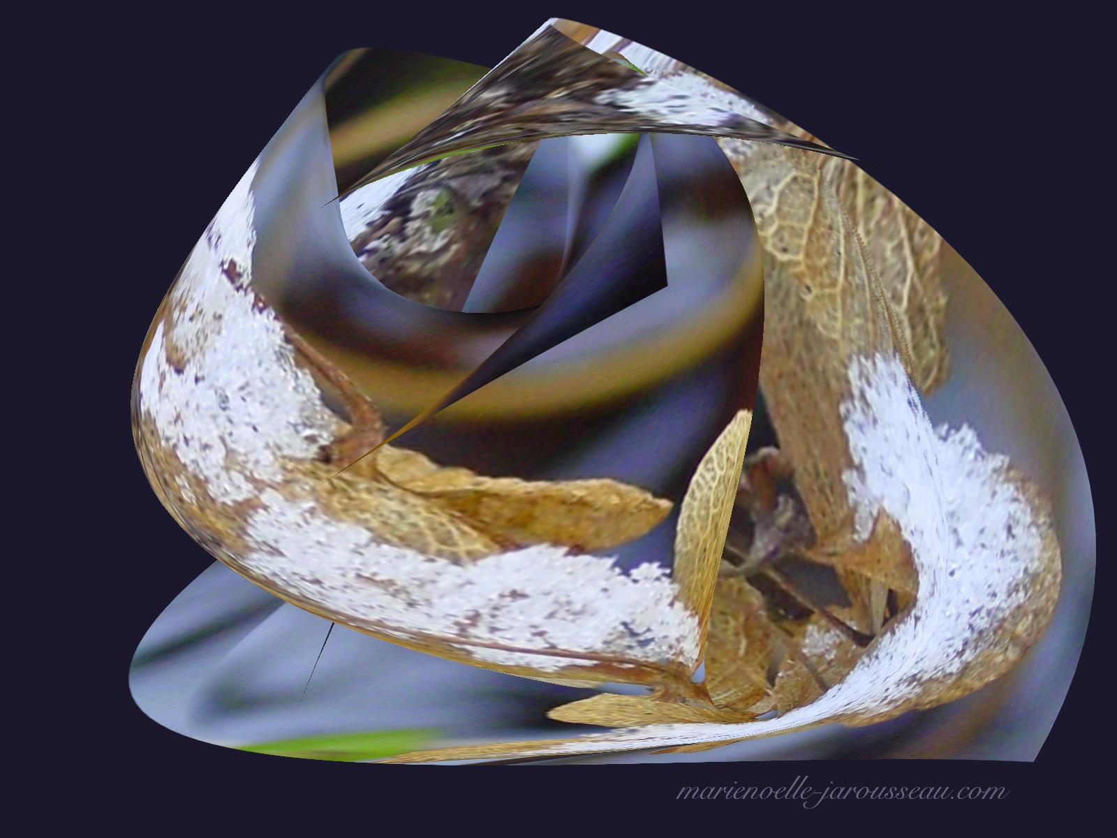 feuille d'abeille grenouille